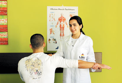 La PHYSIOTHERAPIE A LGU INTERVIEW AVEC 2 ETUDIANTS